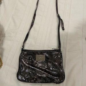 Michael Kors Metallic Crossbody Bag